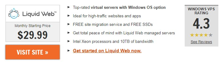 LiquidWeb.com windows vps usa