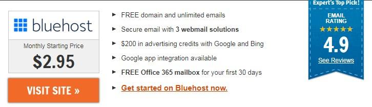 Bluehost Webmail Login Best Hosting